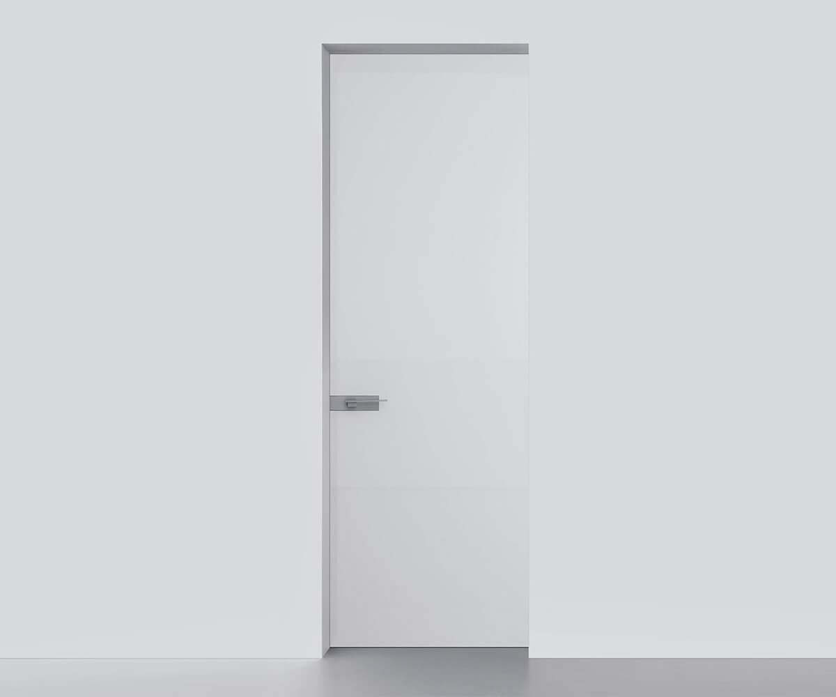 Porte intérieure design moderne - Réalisation Inorbat